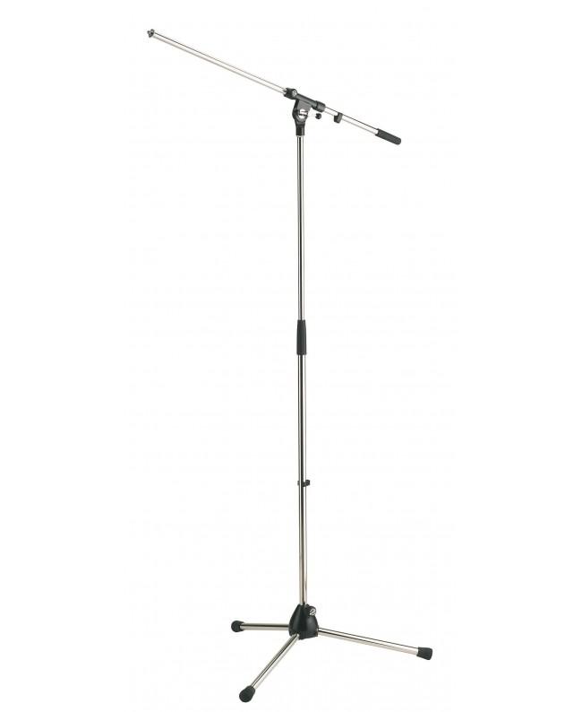 K&M 210/2 Supporto microfono cromato