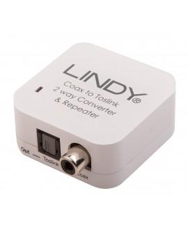 LINDY Converter TosLink (Ottico) e Coassiale bidirezionale