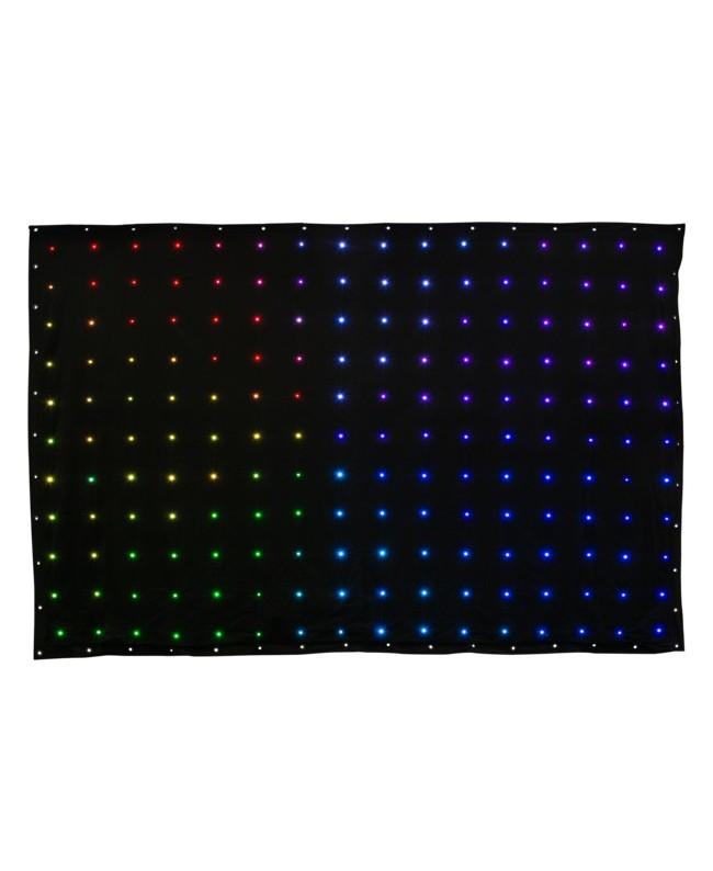 Tenda LED 3x2m RGB DMX flessibile Virtualdrape