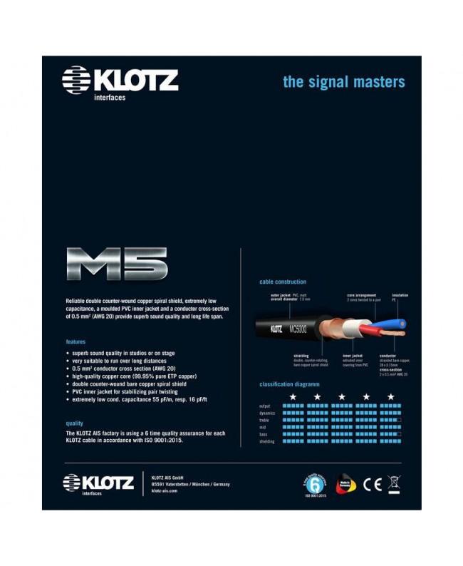 KLOTZ M5FM03