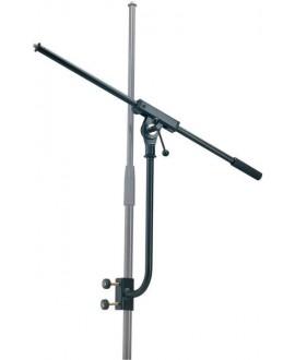 K&M 210/2 Supporto microfono nero