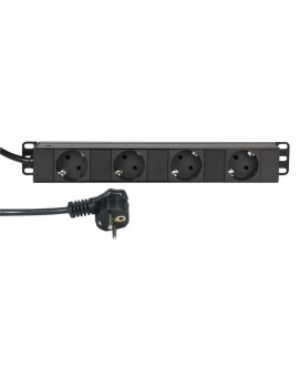 "Adam Hall 19"" Parts 87471 - 19"" Mains Power Strip"