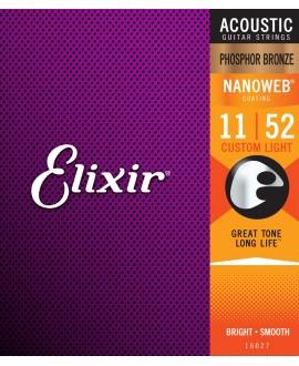 Elixir Acoustic 80/20 Bronze .011 - .052