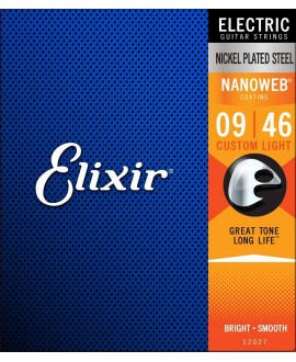 Elixir Electric Nickel Plated .009 - .042
