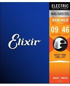 Elixir Electric Nickel Plated .009 - .042