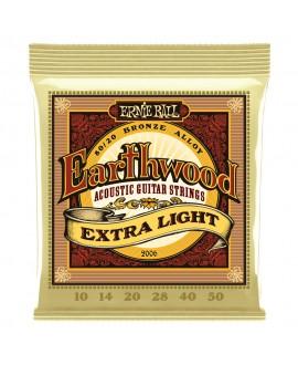 Ernie Ball 2006 Earthwood Bronze Extra Light 10 - 50